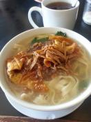 煮板面/Soup cooked pan men