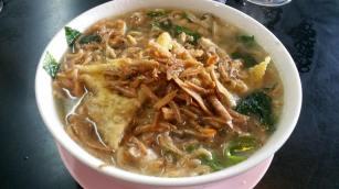 煮伊面/soup cooked yee men
