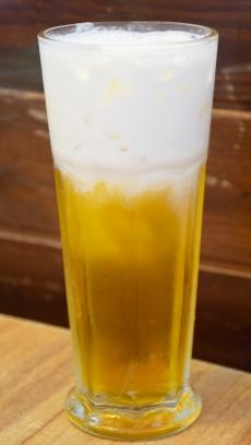 奶盖绿茶 (Salted Creamer Green Tea)