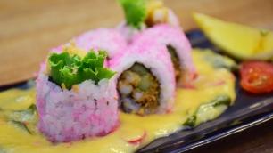 奶油酱寿司 (Buttered Cream Sauce Sushi)
