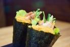 照烧鸡手卷 (Terriyaki Chicken Temaki)