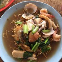 海鲜炒面 Seafood fried noodles