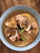 海鲜香底米粉 Seafood fried rice vermicelli in gravy