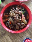 豉汁炒河粉 Flat rice noodles fried in fermednted black bean gravy