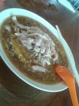 香底米粉 Fried rice vermicelli in gravy
