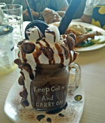 巧克力冰沙 (Chocolate Ice Blended)