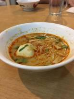 小碗米粉(咖喱汤底)