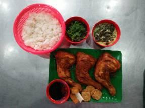 Nasi Penyet 套餐